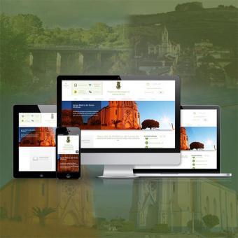 Lavras do Sul com novo site