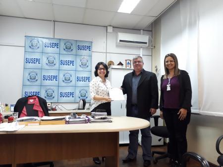 Protocolada Carta Proposta para Convênio com a SUSEPE