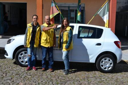Prefeitura adquire carro para uso dos Fiscais Tributários.