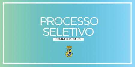 Prefeitura publica novo edital de Processo Seletivo Simplificado